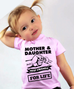 Personalised Baby / Toddler T-Shirt (Pink)