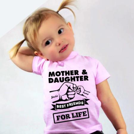 Personalised Baby / Toddler T-Shirt (Pink)