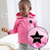 Personalised Baby / Toddler Zip Hoodie (Design 2)