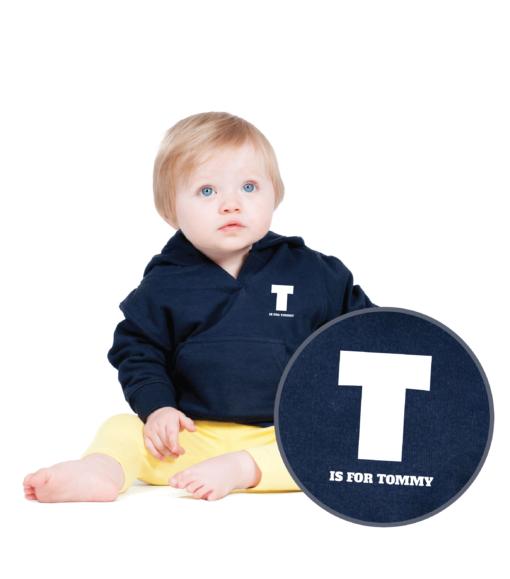 Personalised Baby / Toddler Hoodie (Design 1)