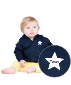 Personalised Baby / Toddler Hoodie (Design 2)