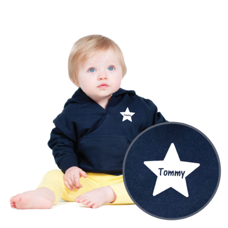 Personalised Baby / Toddler Hoodie (Design 2)