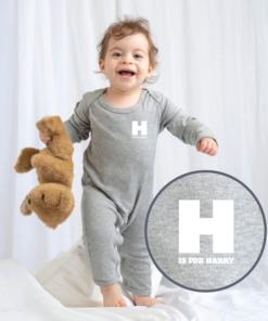Personalised Baby / Toddler Rompersuit (Design 1)